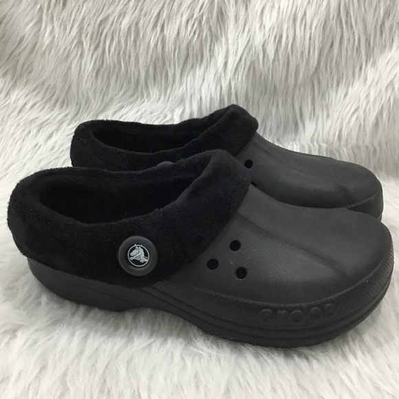 CROCS Shoes   Crocs Black Insulated